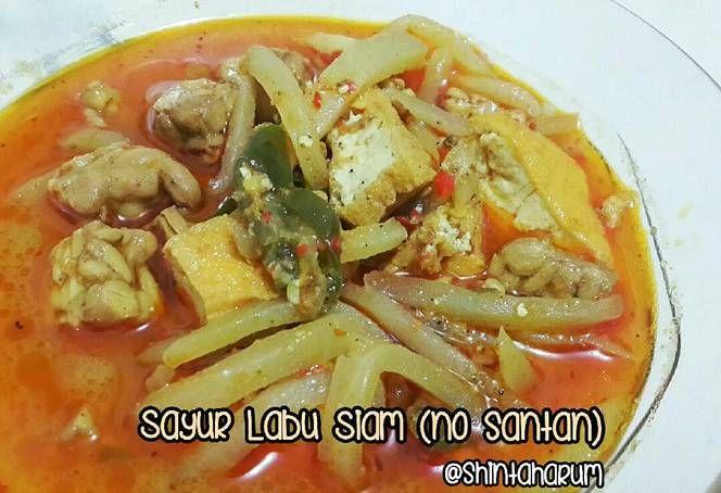 Resep Sayur Labu Siam Tanpa Santan Oleh Shinta Harum Sari Resep Resep Makanan Tempe Labu