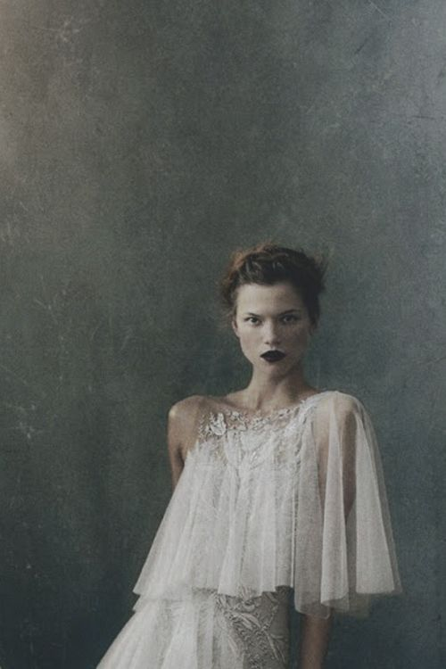 ♥ Romance of the Maiden ♥ couture gowns worthy of a fairytale - Kasia Struss by Norman Jean Roy for US Vogue