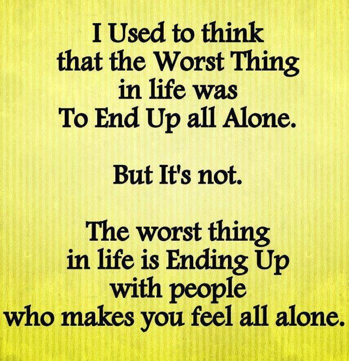 Feeling alone: Quotes Inspirational, Life Quotes, Stuff ...