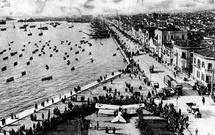 Thessaloniki...maybe between 1911-1914