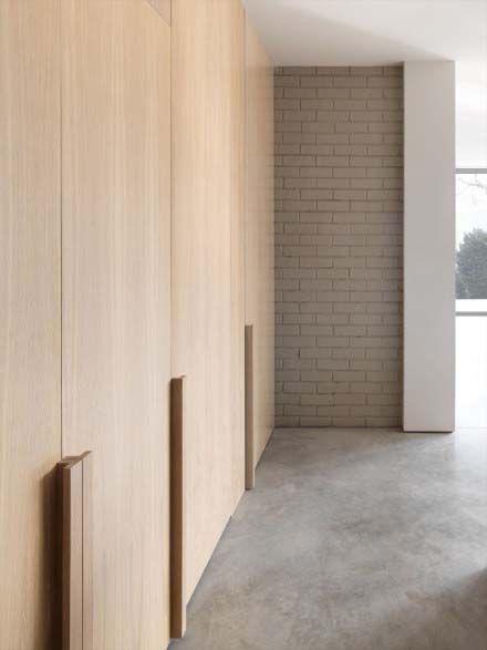 Porte placard bois toute hauteur