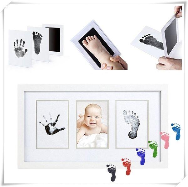 Newborn Footprint Ink Pad Handprint Non-Toxic Clean-Touch Pearhead Inkless