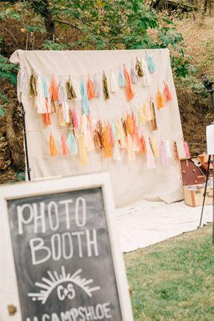 tassle wedding photo booth - brides of adelaiude