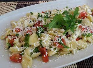 Denny Chef Blog: Orecchiette baresi con rucola, pomodorini e mozzarella