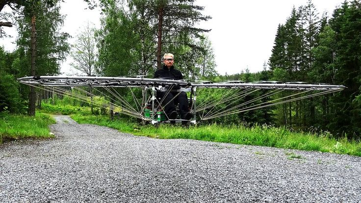 Drone, Drönare, Axel Borg, Örebro