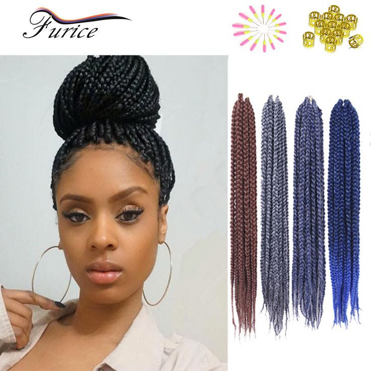 Cheap Crochet Box Braids : Cheap Box Braid Crochet Hair Extensions Synthetic 3X Box Braids High ...