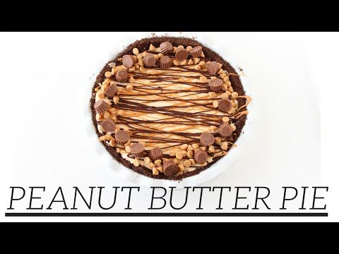 No Bake Reeses Cup Peanut Butter Pie - Food, Fun, and Happiness