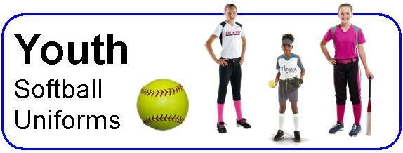 Youth Softball Uniforms| Youth Softball Uniforms Online