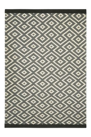 Buy Wool Blend Diamond Geo Rug from the Next UK online shop