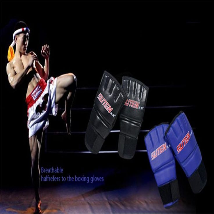 Fish SunDay Hot Sell Cool MMA Muay Thai Training Punching Bag Half Mitts Sparring Boxing Gloves Gym Levert Dropship Nov19