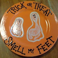 Trick or treat smell my feet i will do this halloween with my grand kids!!!!!!