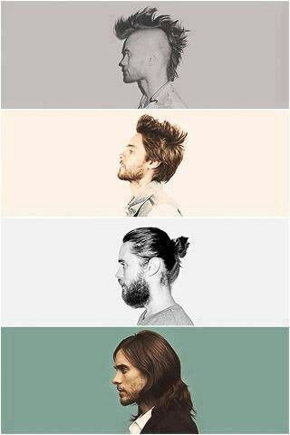 The many profiles of Jared Leto! | I like the last one the best.