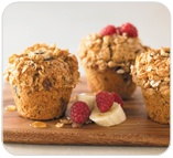 Soy and Linseed muffins from Muffin Break.