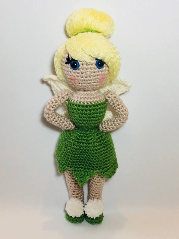 Tinkerbell crochet pattern | Crochet dolls, Crochet doll pattern ... | 760x570