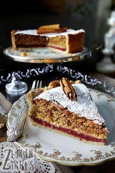 Haselnusskuchen mit Zimt #kuchen #weihnachten #rezept