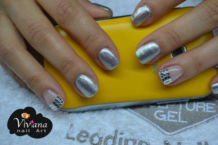 Lovely Silver | Bio Sculpture Gel
