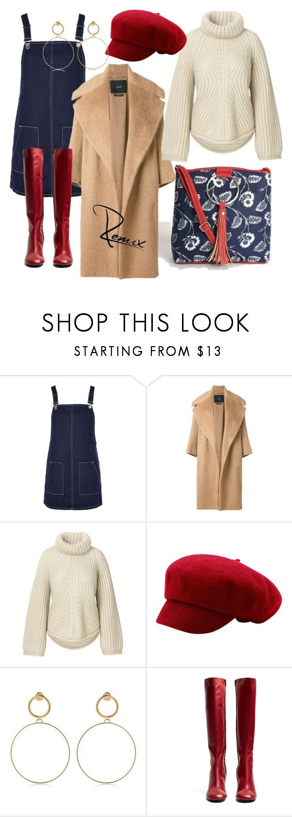 """""""Falling in love"""" by aleva on Polyvore featuring Topshop, MaxMara, Maria Francesca Pepe and Joseph"""