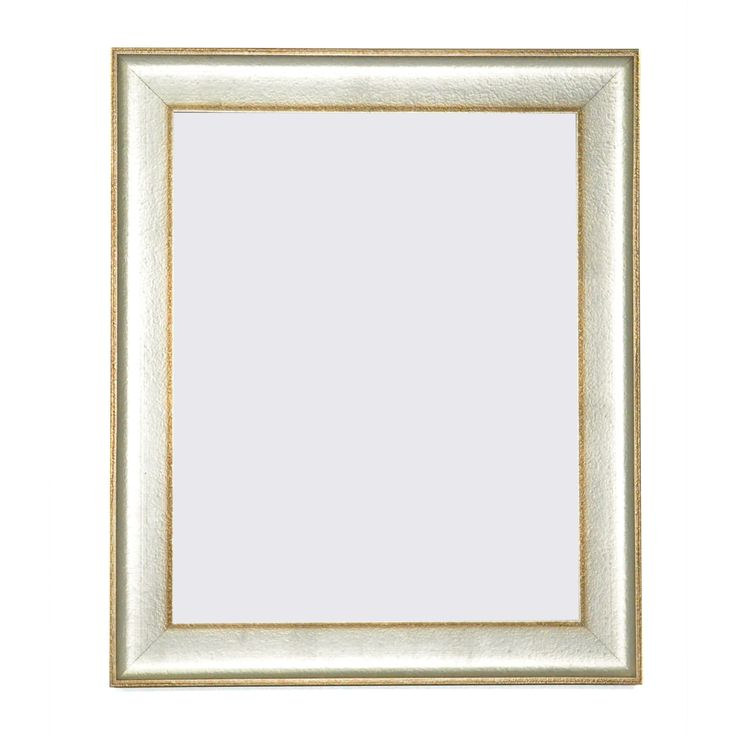 Rayne Mirrors American Made Vintage Silver Picture Frame (Vintage Silver/Bronze, Picture Size: 48 x 60), Size 48x60 (Glass)