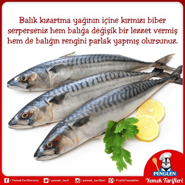 Balık sevenler için lezzetli bir tüyo :)