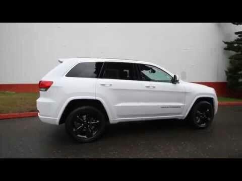 "Jeep Cherokee Laredo Srt ""White With Black Rims"""