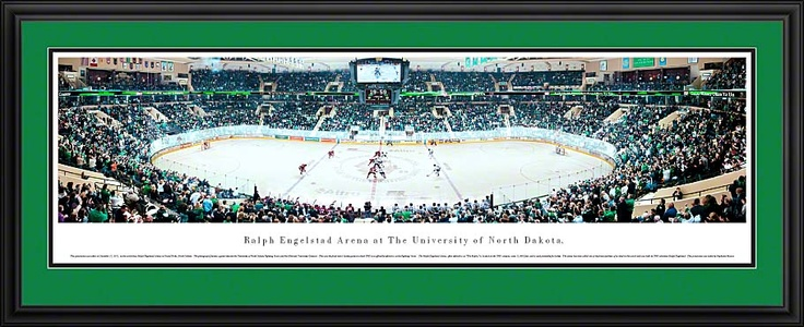 University of North Dakota Fighting Sioux - Ralph Engelstad Arena Panoramic Picture $199.95