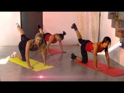 Jill Cooper - Allenamento GAG Esercizi per Gambe e Glutei - YouTube