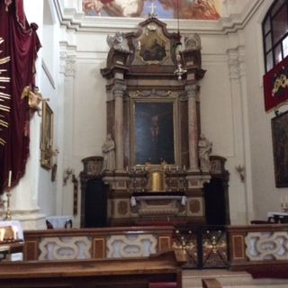 St Pölten, Austria - Prandtauerkirche, the high altar