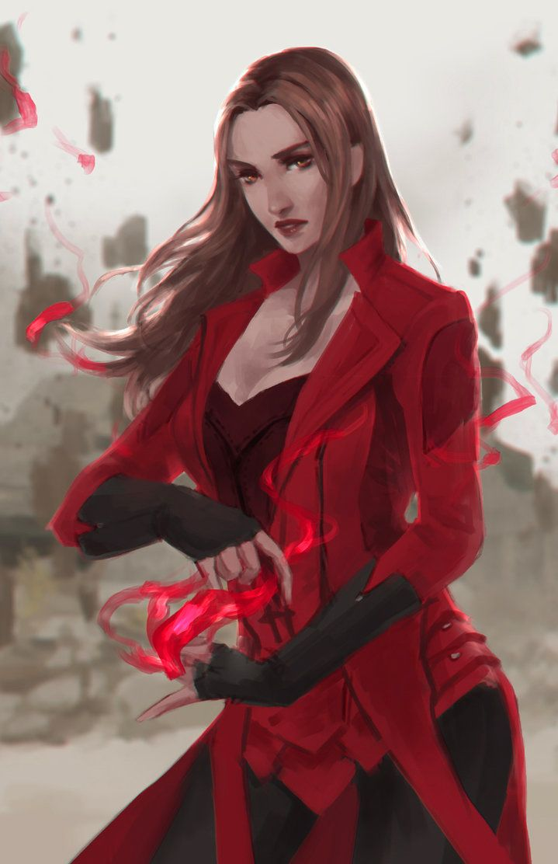 Scarlet Witch by Glaesii.deviantart.com on @DeviantArt - More at…