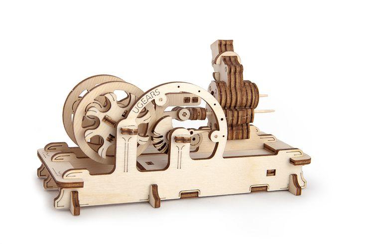 UGears Models — Mechanical Models ENGINE