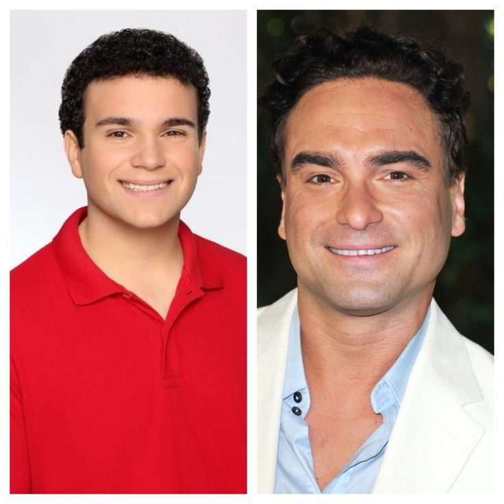 Johnny galecki from big bang theory and troy gentile from the