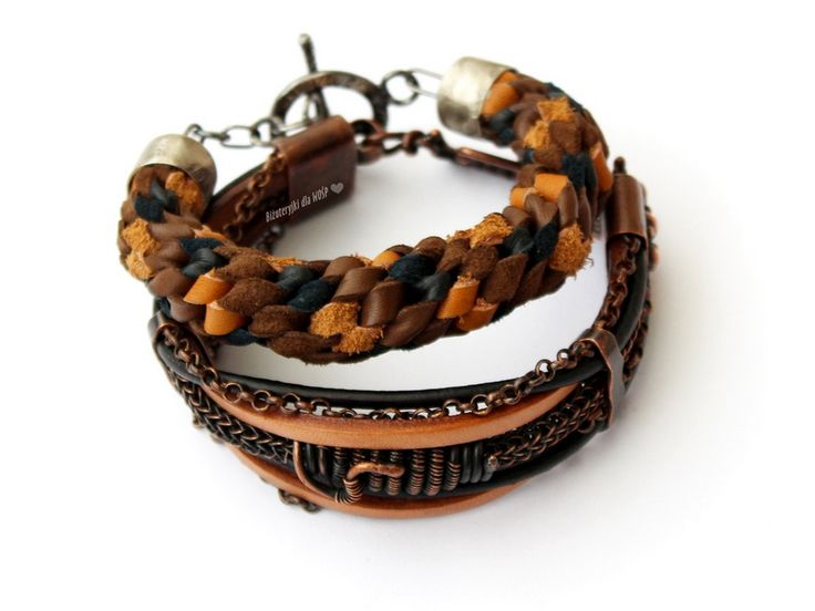 Jewelry for him: set of 2 bracelets for men - common work of several Polish artists for the Great Orchestra of Christmas Charity