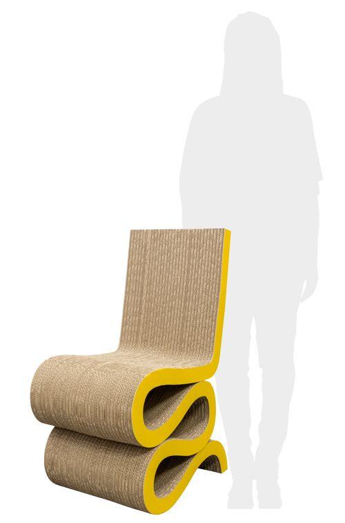 Wave Stoel -  ontwerp https://www.kartonnenwinkel.nl/meubels/105/wave-stoel-ontwerp/