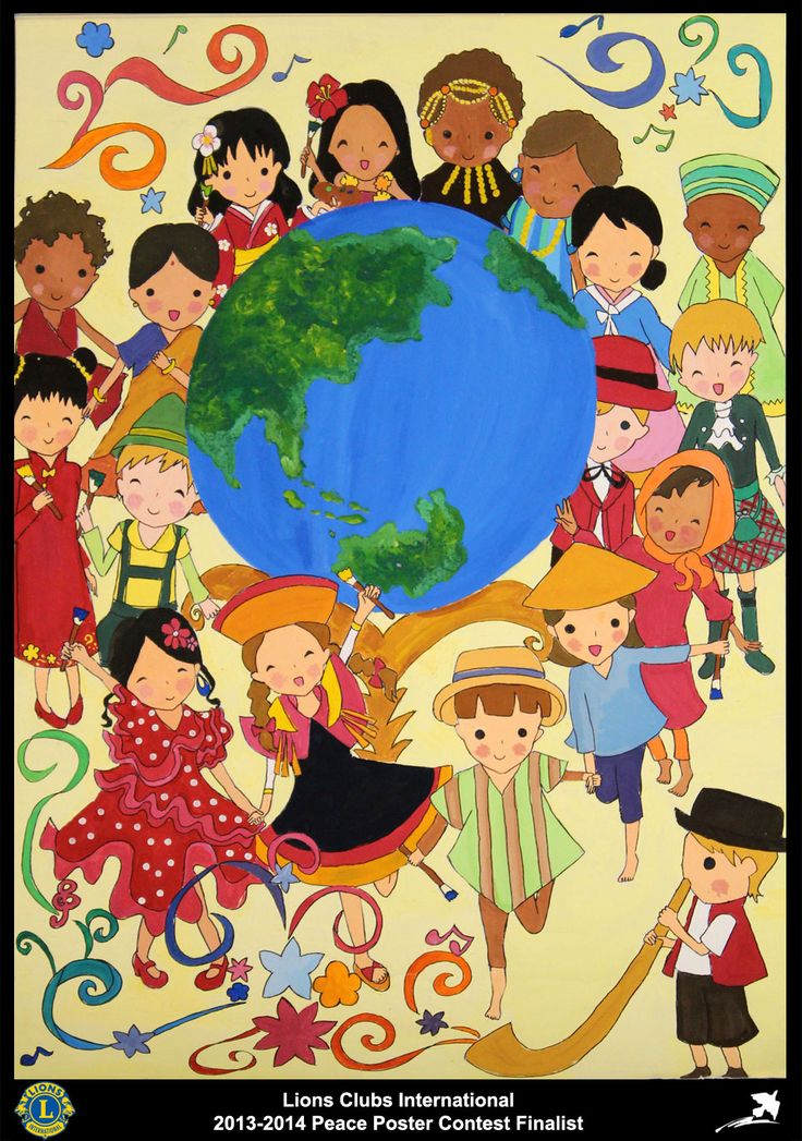 Finalist from Japan (Mishima Lions Club) - 2013-2014 Peace Poster Contest