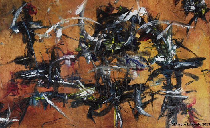 Huile/toile 20 x 30 po. (51 x 76 cm) 1000$