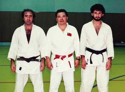 Osama Bin Laden in Judo class third on the right.