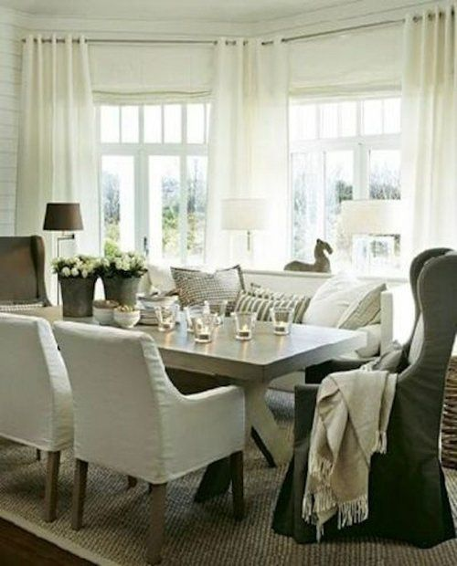 Dining Room Design Ideas: Mixed Seating - Driven by Decor