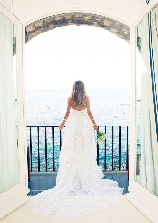 Erica Pelosini wedding in Capri, Italy.