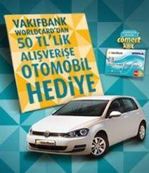 VakıfBank Worldcard Volkswagen Golf Çekiliş Kampanyası