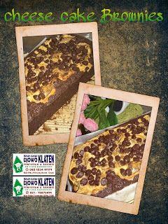 Rumah Makan DJOWO KLATEN: CHEESE CAKE BROWNIES