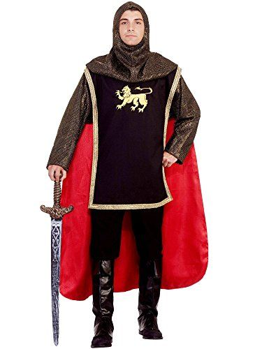 Mens Medieval Knight Costume -- You can get more details by clicking on the image.