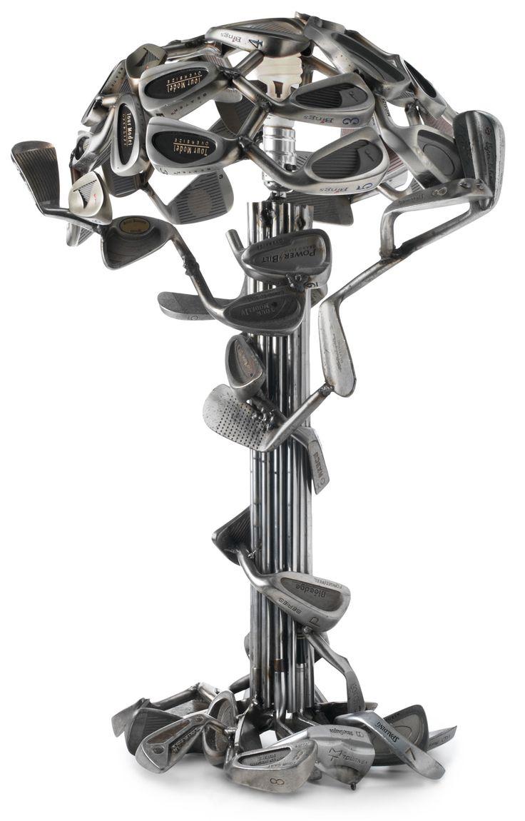 A Cool Golf Club Table Lamp #golf #lorisgolfshoppe
