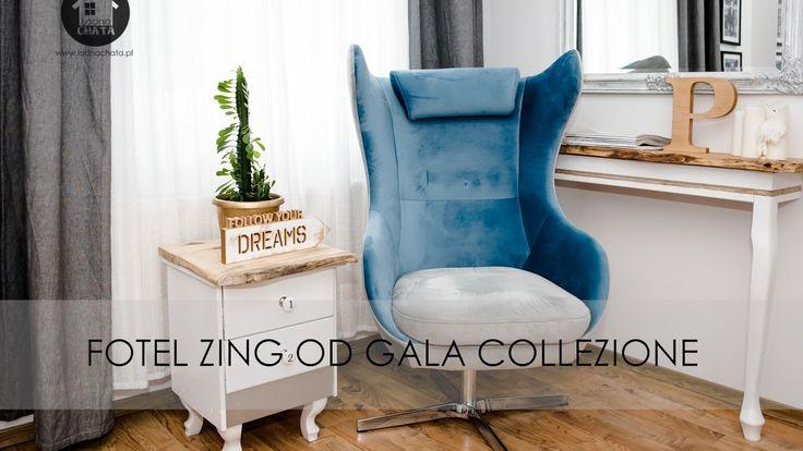 Ładna Chata - Fotel ZING od Gala Collezione