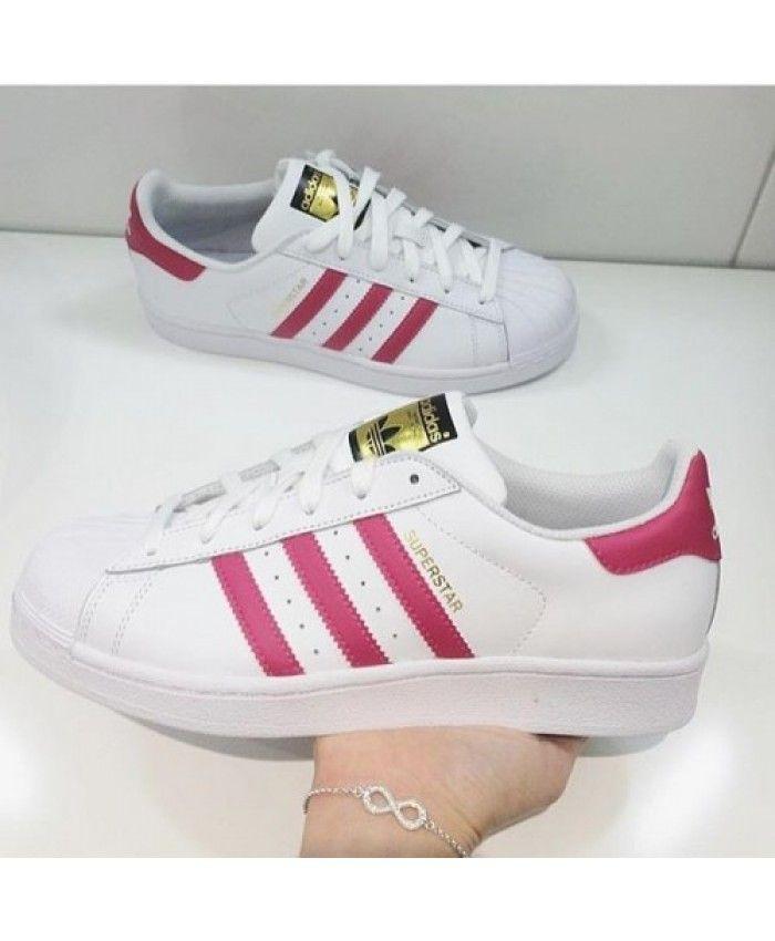 best service 0db8a 15796 Adidas Superstar Pink Buzz Traniers