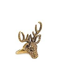 Deer Ring - NLY Accessories - Guld/sølv - Smykker - Tilbehør - NELLY.COM