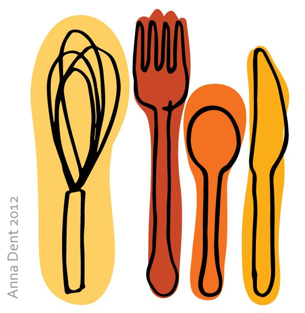 Eat-drink-cook-1 Anna Dent Surface Pattern Design