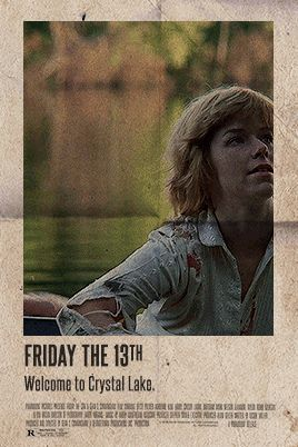 And I Loved It — camp-crystallake: Vintage Horror Posters