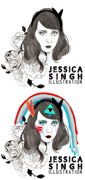 JESSICA SINGH // Illustration