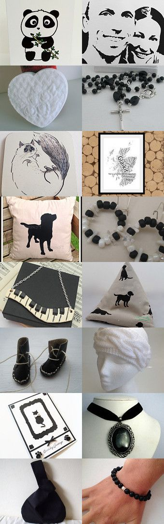 black and white by Silvia Carvalho on Etsy--Pinned+with+TreasuryPin.com