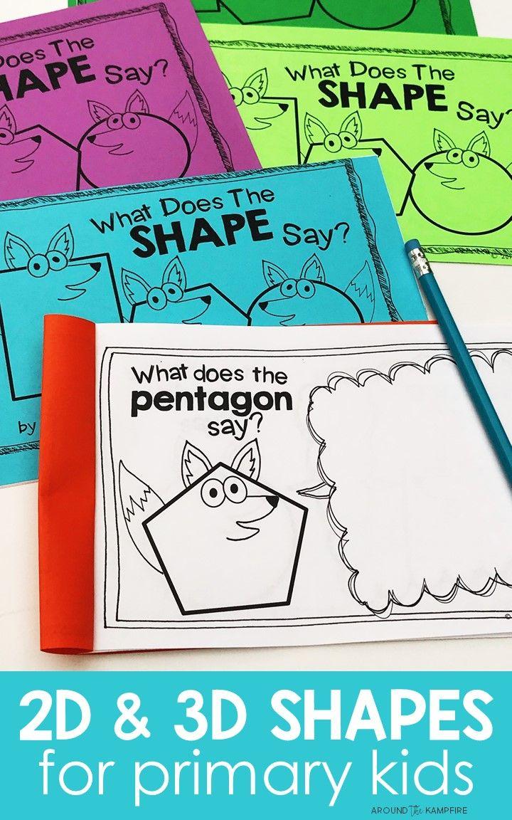 276 best Shapes Activities 2D & 3D {Math} images on Pinterest ...