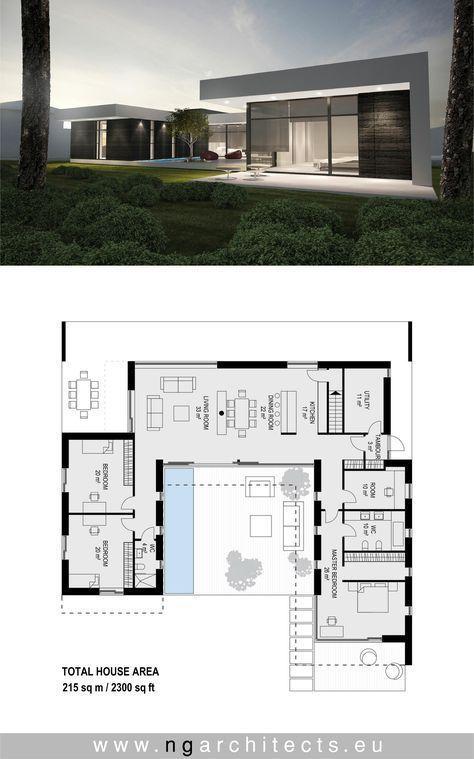Moderne Villa AJ entworfen von NG Architekten www….